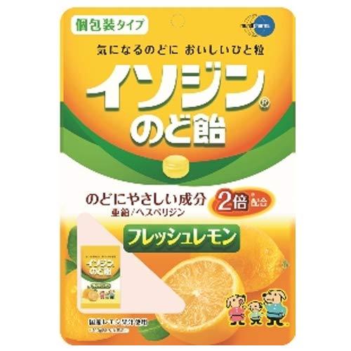 イソジン のど飴 フレッシュレモン味 54g イソジンのど飴×3個セット