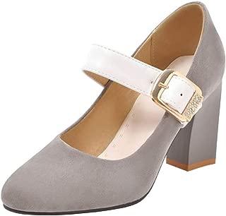 Melady Women Fashion Mary Janes Pumps Heels