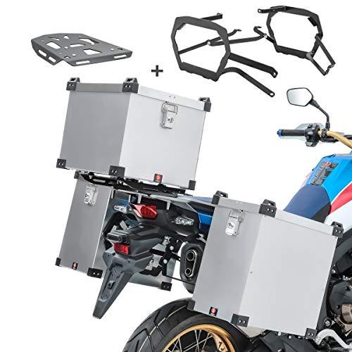 Alu Koffer Set Namib 113 für KTM 790 Adventure/R 19-21 + Topcase Bagtecs