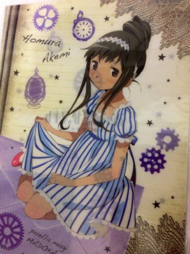Madoka Magika Magical Girl Lawson limit?e fichier clair Akemi flamme ver (japon importation)