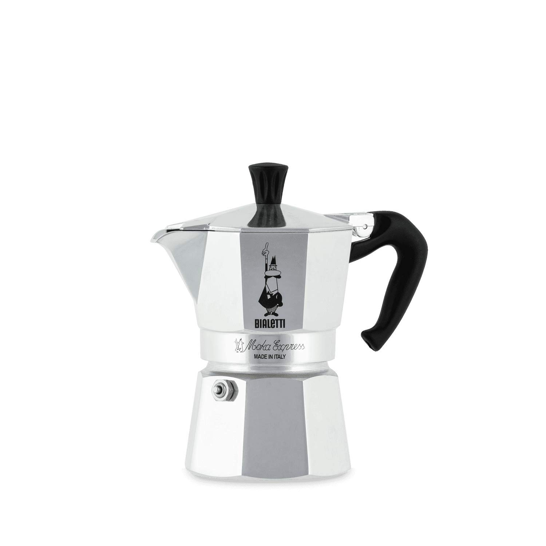 Bialetti Moka Express Cafetera Italiana Espresso, 3 Tazas, Aluminio, Plateado: Amazon.es: Hogar