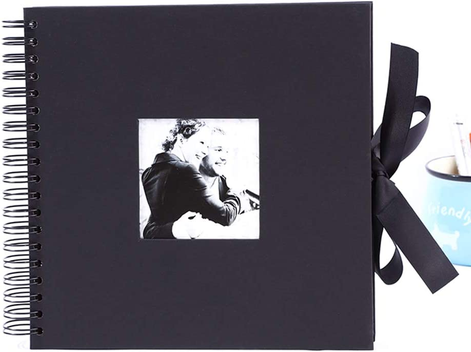 LOHONER Scrapbook Album 10 New popularity inches with Black Collection discount Photo Ph