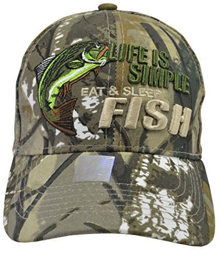 Life is Simple Camo Hat