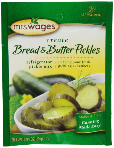 Mrs. Wages Bread and Butter Pickles Refrigerator Mix (VALUE PACK of 12)