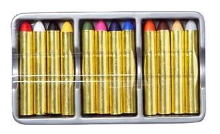 Anniversaire Kermesse - 12 Crayons Maquillage pour Enfants - Lavable à l'Eau (B005I4RE48)   Amazon price tracker / tracking, Amazon price history charts, Amazon price watches, Amazon price drop alerts