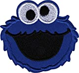 Square Deal Recordings & Supplies Sesame Street - Cookie Monster - Iron on Embroidered Patch