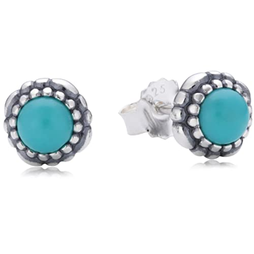 55b2f87ea Pandora Pearl Spinel Silver Earrings 290543TQ