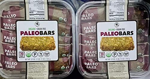 Organic Paleo Bars 27 oz 2 Pack product image