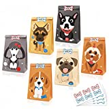 24 Pack Puppy Goodie Candy Treat Bags Dog...