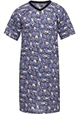 Timone Herren Nachthemd TI30-117 (Faultier, S)