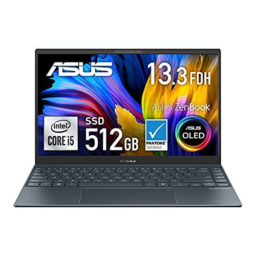 【有機EL】ASUS ノートパソコン ZenBook 13 OLED UX325JA(Core i5-1035G1/8GB・SSD 512GB/13.3インチ/1,920...