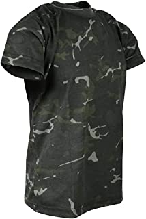 Kombat UK Unisex Kids Camo T-Shirt