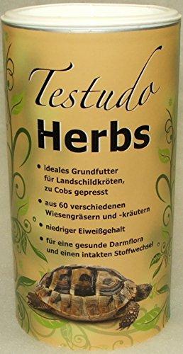 Pre Alpin Testudo Herbs Grundfutter für Landschildkröten (500g)