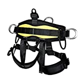 YaeCCC Climbing Harness for Fire Rescue High Altitude School Assignment Caving Rock...