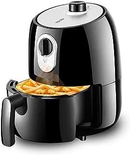 ZC Dawn Electric Air Fryer, Electric Deep Fryers with Basket Oil Free French Fries Machine Intelligent Smokeless Fryer with Air Fryer Recipes EU/AU/UK/US Plug,Black,UKplug