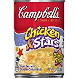 Campbell's Condensed Soup, Chicken & Stars, 10.5 Ounce (Pack of 12)