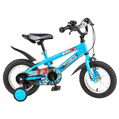 Fantastic Prices! HWZQHJY 12 14 16 Inch Magnesium Bicycle with 2 Hand Disc Brakes, Child's Cycle wit...