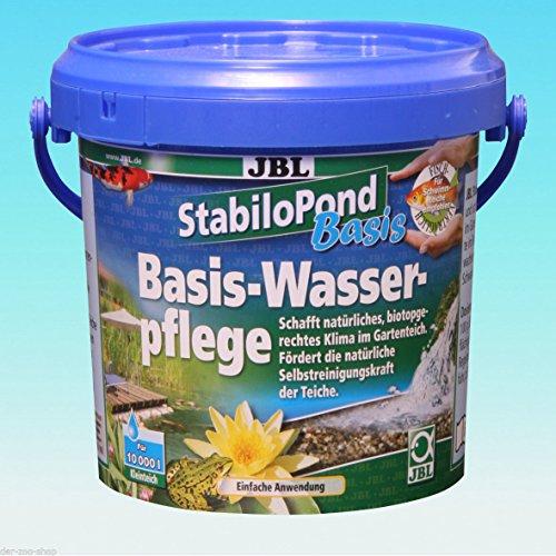 JBL StabiloPond Basis 1 Kg Teichpflege für 10.000 L KH GH pH