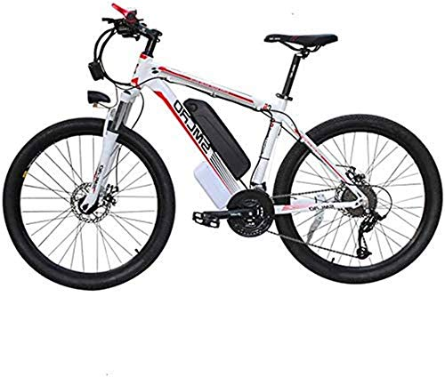 Bicicletas Eléctricas, 48V Electric Mountain Bike 26 '' Fat Tire Choque E-Bici...