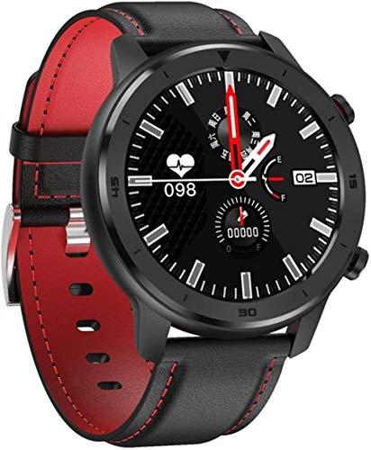 Rastreador de actividad física, rastreador de frecuencia cardíaca, para Android Ios, teléfono inteligente, reloj inteligente para hombre, presión arterial, impermeable, 2019 Smartwatch-D