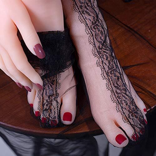 ZNXY 1 Paar Schaufensterpuppe weiblich Beine Mannequin füsse Deko Socken Schuhe Fußkettchen Präsentation Modell Schmuckständer