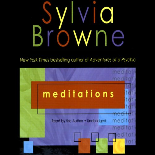 Meditations audiobook cover art