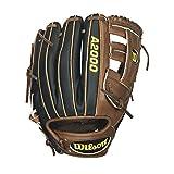 Wilson A2000 G5SS Superskin Infield Baseball Glove, Dark Brown/Black SS, Right Hand Throw, 11.75-Inch