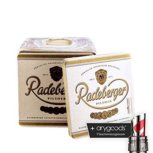 20 x Radeberger Pilsener Bierdeckel Untersetzer Bier Gastro Bar NEU + anygoods Flaschenausgiesser