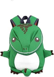Cartoon Dinosaur Backpack Light Waterproof Children's Backpack Shoulder Bag School Bag Kid Backpack Lunch Bag for Kids, Kids,Green