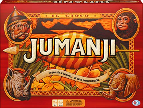 Editrice Giochi - CGI ADG Jumanji The Game EIT, Mehrfarbig, 6045570