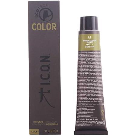 Icon Ecotech Natural Color 7.4 Medium Copper Blonde Tinte - 60 ml