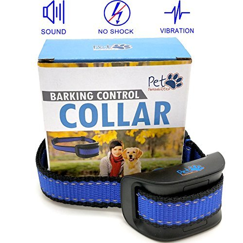 SALE! NO SHOCK Humane Bark Control Collar, For 10-120lb Dogs, Extremely Effective with No Pain or Harm, 7 Different Bark Sensitivity Levels, Bark Training Collar Vibration, Neck size 8.34in to 24.5in