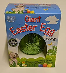 Giant easter egg for dogs Free from cocoa, wheat and gluten Made from carob; the dog friendly alternative to chocolate Barcode: 5024703001855 Style: 200 Gm