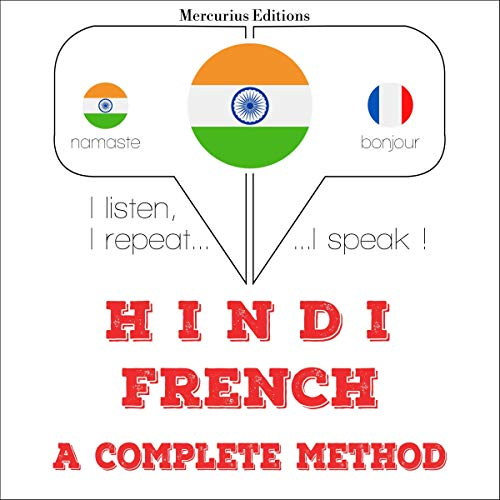 Hindi - French. a complete method cover art
