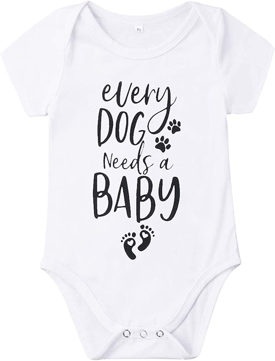 Newborn Baby GOT My Mind ON Romper Funny Bodysuits Mommy Ultra-Cheap Deals Paws Now free shipping