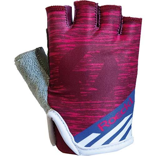 Roeckl Trigolo Kids Kinder Fahrrad Handschuhe kurz pink 2020: Größe: 4