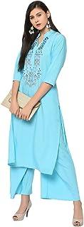 ZIYAA Women's Polyester Salwar Suit