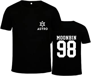 Kpop Astro New Album Summer Vibes T-Shirt S-anha MJ R-ocky Moonbin Tee Shirt