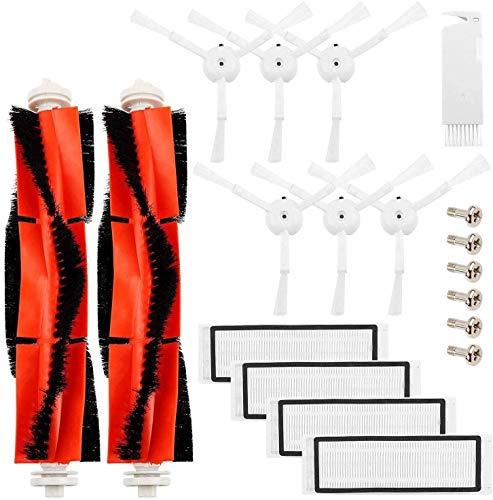 DONGYAO Kit de accesorios para Mijia E35 E25 E20 S50 S6 S5 S51 C10 piezas de repuesto para aspiradora robótica 19 unidades