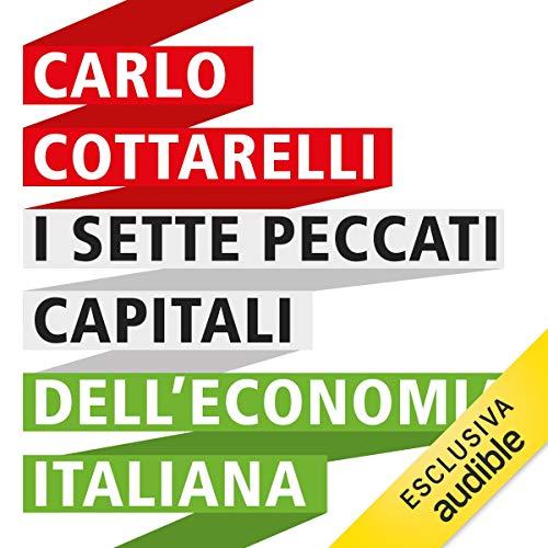 I sette peccati capitali dell'economia italiana copertina