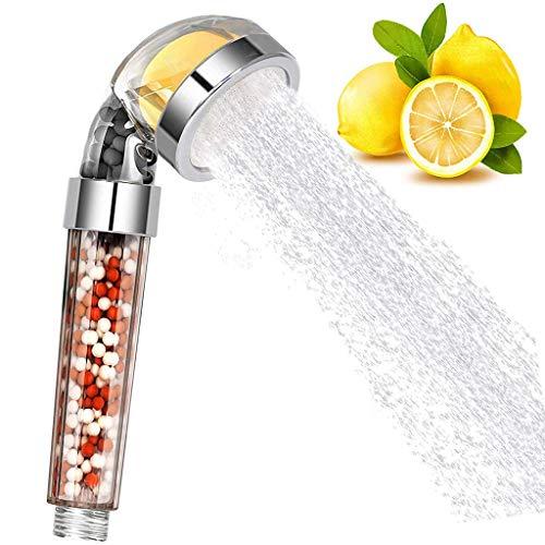 lailongp 1 set de filtro de aroma de limón de alta presión para alcachofa de ducha