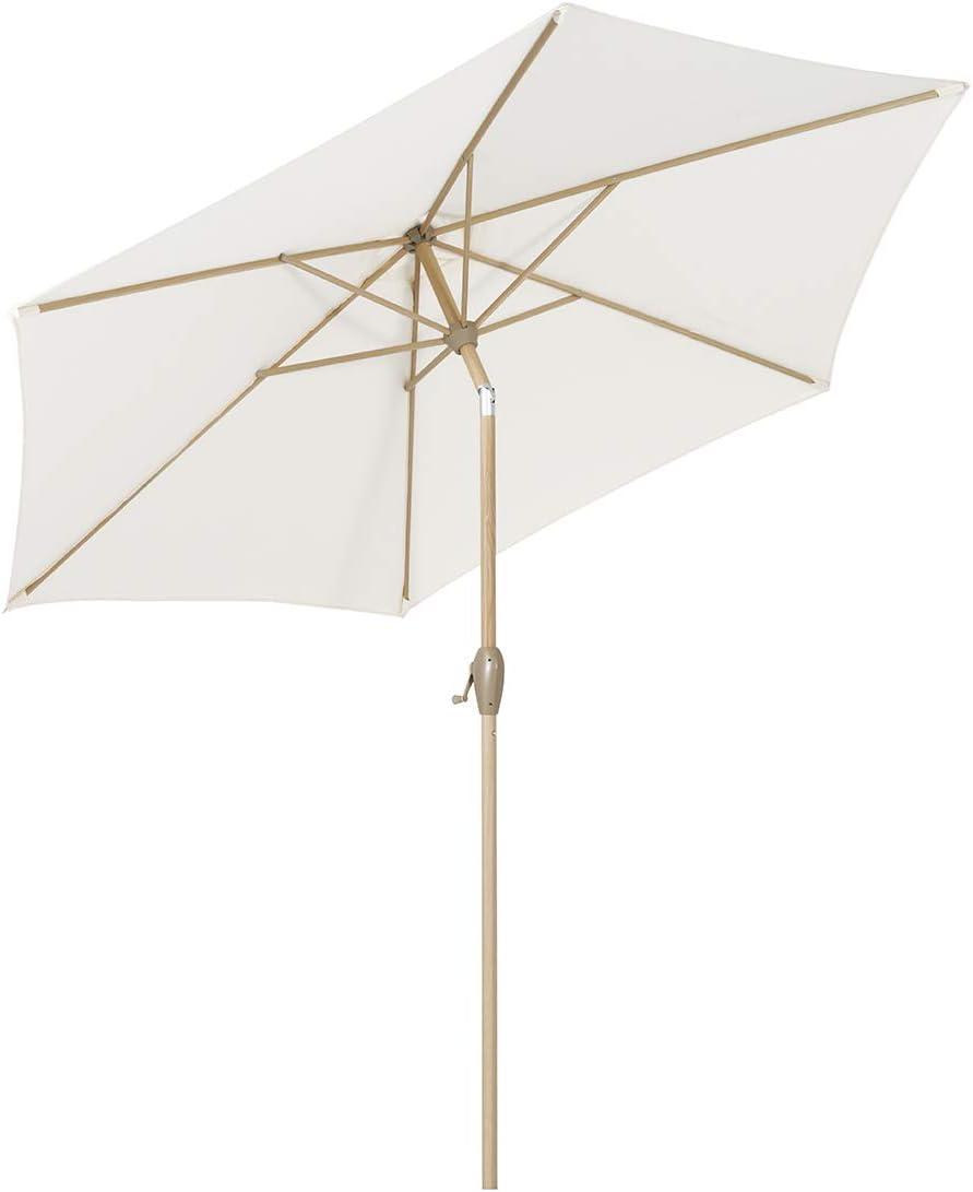 Sekey® sombrilla Parasol para terraza jardín Playa Piscina Patio diámetro 270 cm Protector Solar UV50+ Bosque Verde
