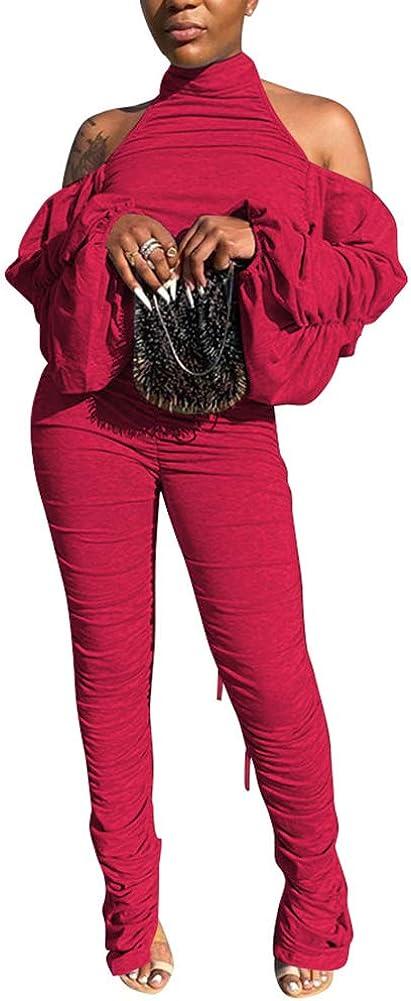 Kafiloe Party Year-end Outstanding gift Jumpsuit for Women Sexy Elegant Halter Neck - Back
