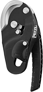 PETZL RIG Descender Black with Auto Lock 10-11.5mm Rope NFPA