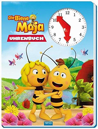 Trötsch Die Biene Maja Uhrenbuch: Entedeckerbuch Beschäftigungsbuch Spielbuch Lernbuch