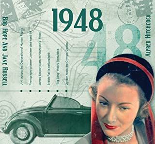 CDCard Company 1948 - The Classic Years CD - Birthday Card CDC1635536