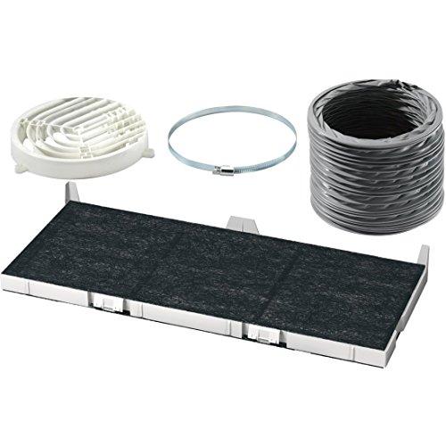 Bosch DSZ4565 Zubehör für Dunstabzüge / Standard Umluftset / für Umluftbetrieb / Aktivkohlefilter / Umlenkweiche / Flex-Schlauch / Schlauchklemmen / Befestigungsmaterial