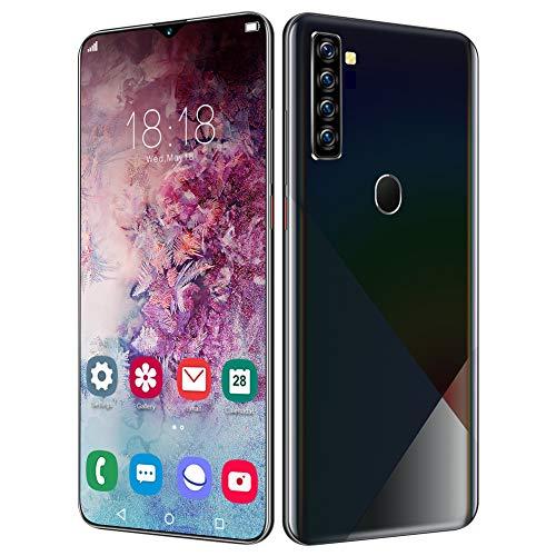 EBTOOLS Unlocked Smartphone, 2+16GB 6.7IN 4800mAh Fingerprint Unlock Cell Phone, Bullt-in GPS, Face Recognition, Support 128GB Memory Card(US Plug)