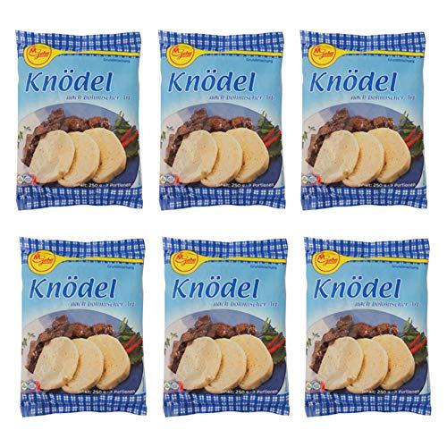6er Pack Geha Knödel nach böhmischer Art (6 x 250 g) Knödelmischung Knödelteig