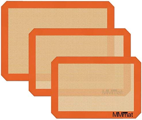 MMmat Silicone Baking Mats Best German Silicone Set of 3 product image